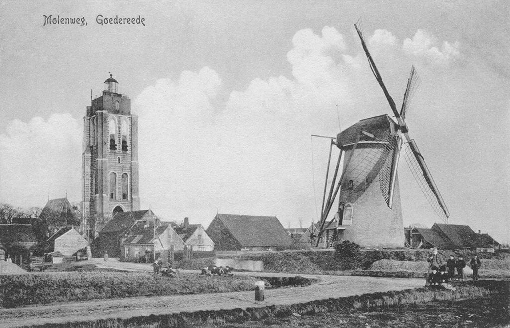 Goedereede omstreeks 1910.