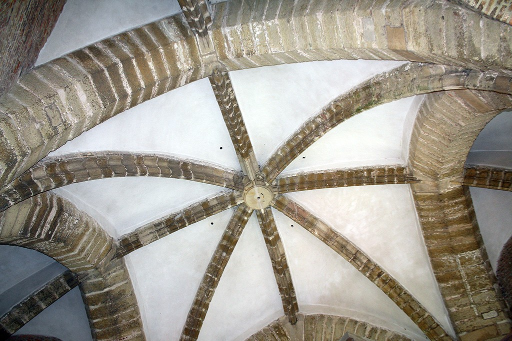 Kerktoren Goedereede plafond carillonzolder