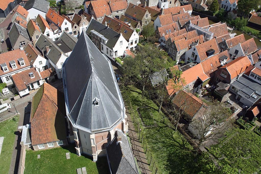 Kerktoren Goedereede uitzicht op stad 2